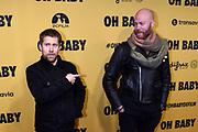 Galapremiere Oh Baby regiedebuut van Thomas Acda in Pathe Tushinski, Amsterdam<br /> <br /> Op de foto:  Tim Haars