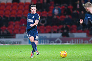 Simon Cox of Southend United (10) passes the ball during the EFL Sky Bet League 1 match between Doncaster Rovers and Southend United at the Keepmoat Stadium, Doncaster, England on 12 February 2019.