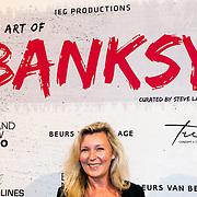NLD/Amsterdam/20160617 - The Art of Banksy - Opening night, Saskia Noort