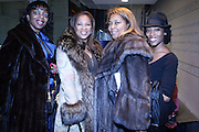 """l to r: Deborah Chatmon, Adreienne Lopez, Marilynn Crawford at """" The Obama That One: A Pre-Inagural Gala Celebrating the Victory of President-Elect Obama celebration held at The Newseum in Washington, DC on January 18, 2009  .."""