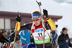 10.12.2011, Biathlonzentrum, Hochfilzen, AUT, E.ON IBU Weltcup, 2. Biathlon, Hochfilzen, Verfolgung Herren, im Bild Birnbacher Andreas (GER) spaeterer 15 // during E.ON IBU World Cup 2th Biathlon, Hochfilzen, Austria on 2011/12/10. EXPA Pictures © 2011. EXPA Pictures © 2011, PhotoCredit: EXPA/ nph/ Straubmeier..***** ATTENTION - OUT OF GER, CRO *****