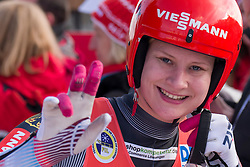 26.11.2016, Winterberg, GER, Viessmann Rennrodel Weltcup, Winterberg, Damen, Einsitzer, im Bild Dajana Eitberger // during women's single seater of Viessmann Luge World Cup. Winterberg, Germany on 2016/11/26. EXPA Pictures © 2016, PhotoCredit: EXPA/ Rolf Kosecki<br /> <br /> *****ATTENTION - OUT of GER*****