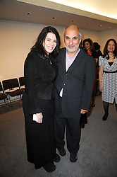 NIGELLA LAWSON and SIR ALAN YENTOB at the opening reception of the new Jewish Museum, Raymond Burton House, 129-131 Albert Street, London NW1 on 16th March 2010.