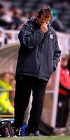 Photo: Alan Crowhurst.<br />Fulham v West Ham United. The Barclays Premiership. 23/12/2006. West Ham coach Alan Curbishley.