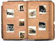 photo album pages Japan ca 1940s - 1950s