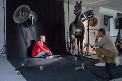 Henk van Cauwenbergh, Niels Bruynseels<br /> Foto shoot met Henk van Cauwenbergh voor KBRSF - Zaventem 2018<br /> © Hippo Foto - Dirk Caremans<br /> 01/05/2018