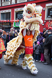 © Licensed to London News Pictures. 29/01/2012. London, England. Chinese New Year 2012 - The Year of the Dragon - Celebrations in Central London. Photo credit: Bettina Strenske/LNP