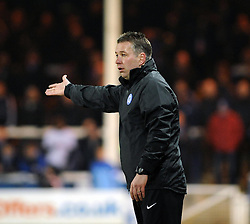 Peterborough United Manager, Darren Ferguson - Photo mandatory by-line: Dougie Allward/JMP - Mobile: 07966 386802 11/03/2014 - SPORT - FOOTBALL - Peterborough - London Road Stadium - Peterborough United v Bristol City - Sky Bet League One