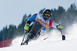 NICOLI Maurizio, SUI, Slalom, 2013 IPC Alpine Skiing World Championships, La Molina, Spain