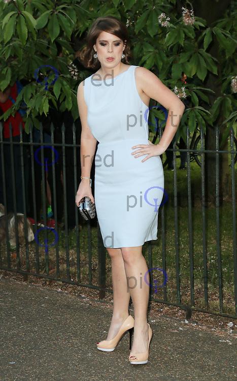 Princess Eugenie of York, The Serpentine Gallery - summer party, The Serpentine Gallery, London UK, 01 July 2014, Photo by Richard Goldschmidt