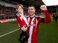 John Fleck of Sheffield United during the English League One match at Bramall Lane Stadium, Sheffield. Picture date: April 17th, 2017. Pic credit should read: Jamie Tyerman/Sportimage
