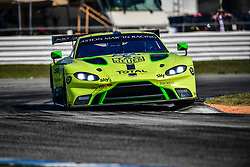 March 14, 2019 - Sebring, Etats Unis - 97 ASTON MARTIN RACING (GBR) ASTON MARTIN VANTAGE AMR GTE PRO ALEXANDER LYNN (GBR) MAXIME MARTIN  (Credit Image: © Panoramic via ZUMA Press)