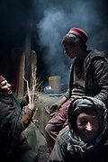 Inside a Wakhi home in Warghund village...Between Khandud and Ishkashim..Driving down from Sarhad village, end of the road in the Wakhan corridor, to Ishkashim town, on the Tajikistan border.
