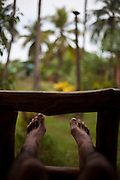 Relaxing near Maungmagan village, Dawei, Burma.<br /> Note: Images are not distributed or sold in Portugal