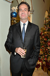 BRIAN MENELL at the London debut of Nest - an organisation to promote peace and prosperity in partnership with artisans worldwide, held at Thomas Goode & Co, South Audley Street, London on 4th November 2014.