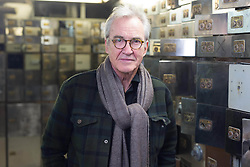 EDITORIAL USE ONLY<br /> Actor Larry Lamb at the Hatton Garden Safe Deposit, in Hatton Garden, London, which was at the centre of a high profile heist in 2015 by a gang of career criminals who stole £14 million worth of jewels.