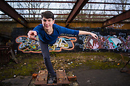 Pictures from the dance shoot with Louis and Vasanthi from the Actual Size dance company taken at the disused brickworks near Ewhurst, Surrey, UK. Picture copyright Andrew Tobin