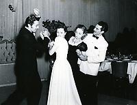 1949 Cesar Romero dancing at Ciro's Nightclub in West Hollywood