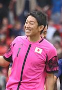 Men's Olympic Football match Spain v Japan on 26.7.12...Shuichi Gonda of Japan, during the Spain v Japan Men's Olympic Football match at Hampden Park, Glasgow...Picture John Millar / ProLens PhotoAgency / PLPA.Thursday 26th July 2012......................