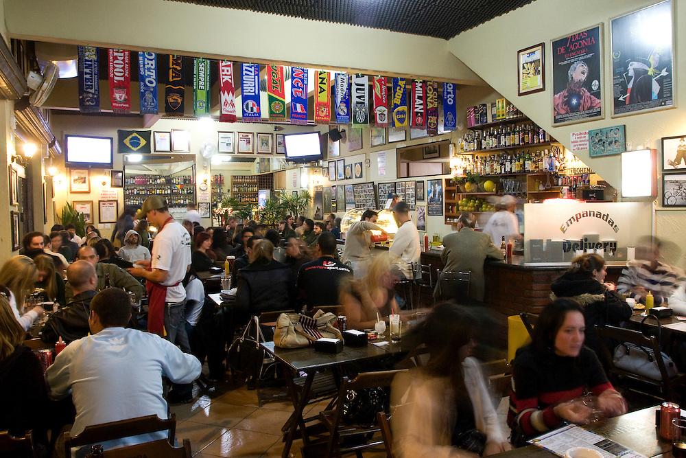 Sao Paulo_SP, Brasil...Empanadas bar no Vila Madalena, Sao Paulo...The Empanadas bar in the Vila Madalena, Sao Paulo...Foto: MARCUS DESIMONI / NITRO.