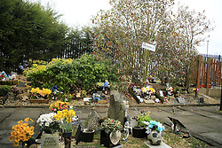 25 February 2017 - Premier League - West Bromwich Albion v AFC Bournemouth - The West Bromwich Albion memorial garden situated in the corner of a Car Park - Photo: Paul Roberts / Offside