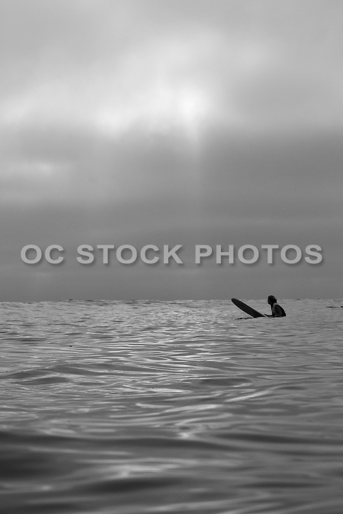 Local Surfer at San Onofre State Beach