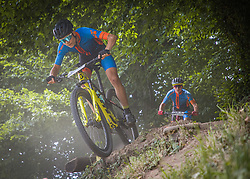 during the race of XCO National Championship of Slovenia 2021 on 27.06.2021 in Kamnik, Slovenia. Photo by Urban Meglič / Sportida