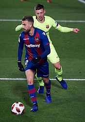 January 11, 2019 - Valencia, U.S. - VALENCIA, SPAIN - JANUARY 10: Borja Mayoral, forward of Levante UD in action with the ball during the Copa del Rey match between Levante UD and FC Barcelona at Ciutat de Valencia on January 10, 2019 in Valencia, Spain. (Photo by Carlos Sanchez Martinez/Icon Sportswire) (Credit Image: © Carlos Sanchez Martinez/Icon SMI via ZUMA Press)