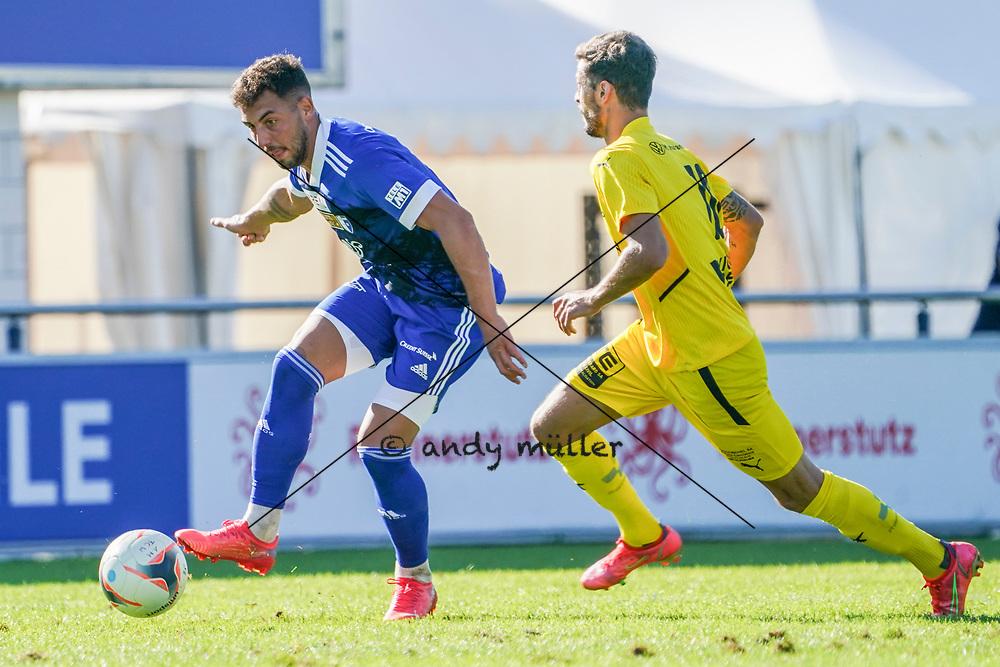 18.09.2021; Wohlen; FUSSBALL 1.LIGA - FC Wohlen - FC Bassecourt;<br /> <br /> (Andy Mueller/freshfocus)