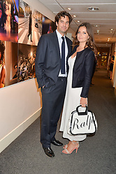 RUPERT & LADY NATASHA FINCH at an exclusive showing of the Ralph Lauren Collection Spring 2014 Runway Collection held at the legendary Abbey Road Studios, Abbey Road, London NW8 on 21st May 2014.