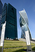 Moskou is de hoofdstad en met afstand de grootste stad van Rusland, voorheen van de Sovjet-Unie./// Moscow is the capital and by far the largest city of Russia, formerly the Soviet Union.<br /> <br /> Op de foto / On the photo:  Moscow-City - Internationaal Zakencentrum van Moskou / Moscow-City - International Business Center Moscow