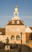 Seventeenth century Custom House building at King's Lynn, Norfolk, England