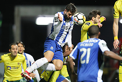 March 11, 2018 - Pacos Ferreira, Pacos Ferreira, Portugal - Porto's Brazilian defender Felipe (L) in action during the Premier League 2017/18 match between Pacos Ferreira and FC Porto, at Mata Real Stadium in Pacos de Ferreira on March 11, 2018. (Credit Image: © Dpi/NurPhoto via ZUMA Press)