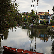 Street life from Venice, California, including the famed boardwalk as well as the Venice Canals.