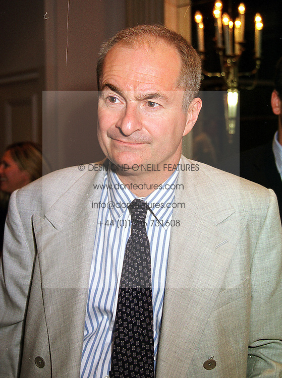 Broadcaster MR PAUL GAMBACCINI, at a luncheon in London on 7th September 1999.MUX 42