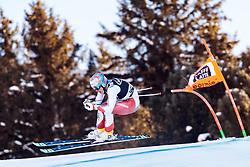 29.12.2017, Stelvio, Bormio, ITA, FIS Weltcup, Ski Alpin, alpine Kombination, Abfahrt, Herren, im Bild Gian Luca Barandun (SUI) // Gian Luca Barandun of Switzerland in action during the downhill competition for the men's Alpine combination of FIS Ski Alpine World Cup at the Stelvio course, Bormio, Italy on 2017/12/29. EXPA Pictures © 2017, PhotoCredit: EXPA/ Johann Groder