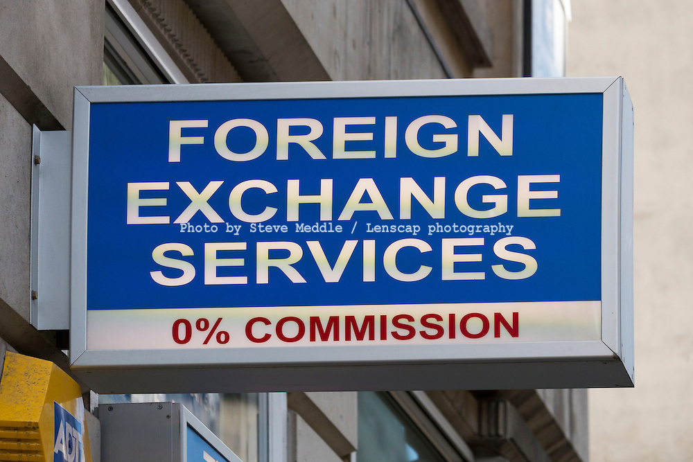 Currency Exchange Shop Sign - Aug 2013.