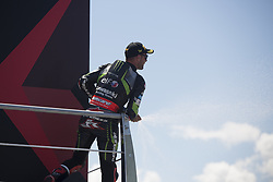 July 7, 2018 - Misano, Italy, Italy - 1 Jonathan Rea GBR Kawasaki ZX-10RR Kawasaki Racing Team WorldSBK during the Motul FIM Superbike Championship - Italian Round Superpole race during the World Superbikes - Circuit PIRELLI Riviera di Rimini Round, 6 - 8 July 2018 on Misano, Italy. (Credit Image: © Fabio Averna/NurPhoto via ZUMA Press)