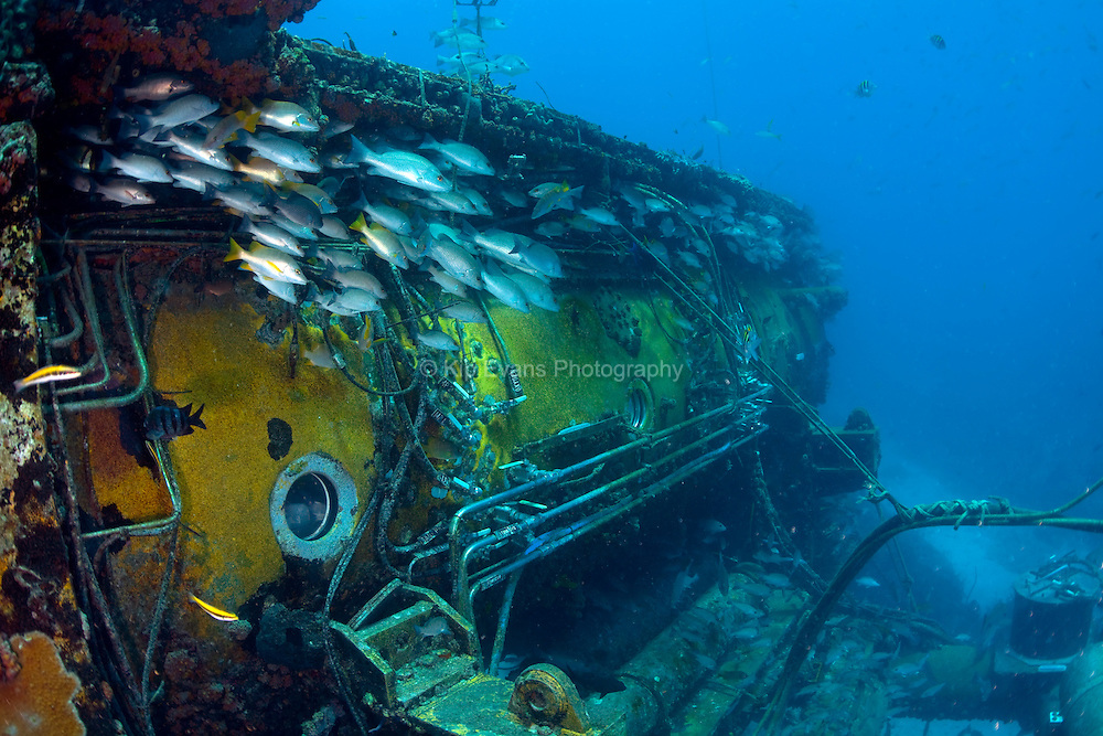 Aquarius, an underwater ocean laboratory located in the Florida Keys National Marine Sanctuary.