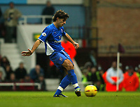 Photo. Chris Ratcliffe<br /> West Ham United v Ipswich Town. Nationwide 1st Division 26/12/2003<br /> Pablo Counago scores from the spot to draw the scores level at 1-1
