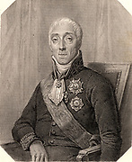 Joseph Fouche, Duke of Otranto (1763-1829) French statesman and revolutionary. Voted for execution of Louis XVI. Minister of police 1799-1815. Engraving.