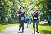 NO FEE PICTURES<br /> 19/5/18 Hundreds of people of all ages lapped up the summer sunshine when they came out to support an important cause which is close to many of their hearts, organ donation, by taking part in the Irish Kidney Association's 'Run for a Life' family fun run which took place at Corkagh Park, Clondalkin, Dublin 22 on Saturday 19th May.   (www.runforalife.ie) Picture:Arthur Carron