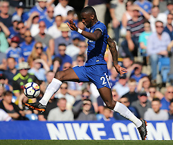 May 6, 2018 - London, Greater London, United Kingdom - Antonio Rudiger of Chelsea during English Premier League match between Chelsea and Liverpool at Stamford Bridge, London, England on 6 May 2018. (Credit Image: © Kieran Galvin/NurPhoto via ZUMA Press)