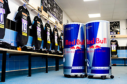 Red Bull in the Exeter Chiefs changing room prior to kick off - Mandatory by-line: Ryan Hiscott/JMP - 19/10/2019 - RUGBY - Sandy Park - Exeter, England - Exeter Chiefs v Harlequins - Gallagher Premiership Rugby