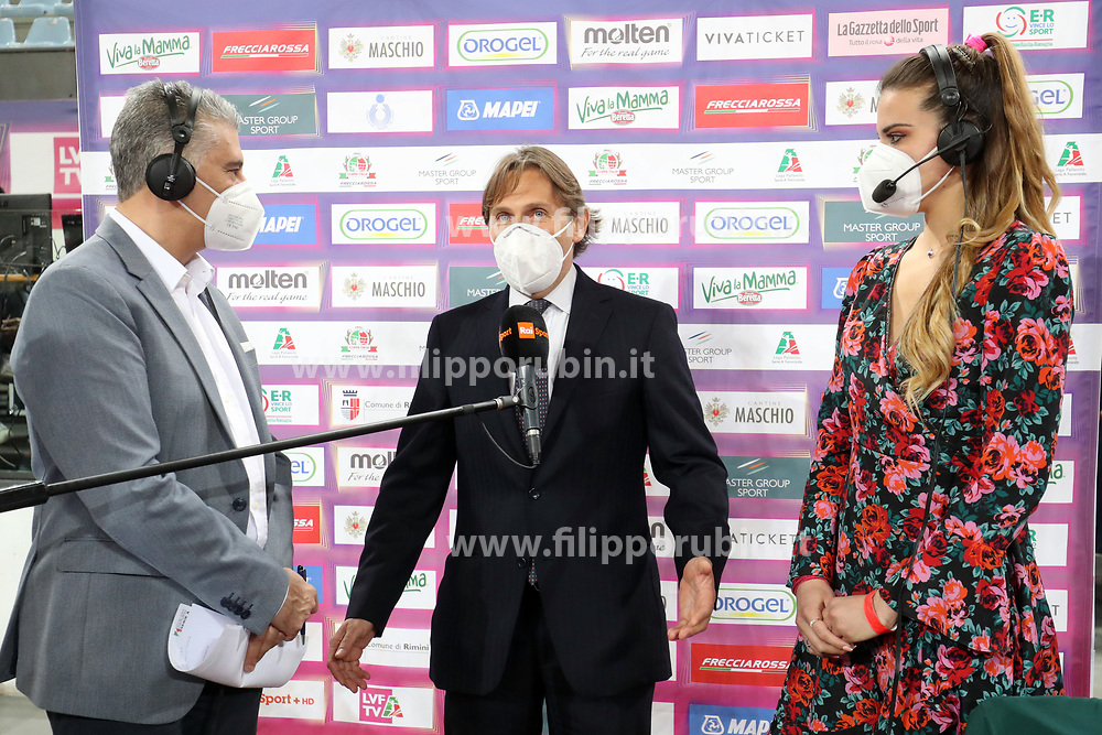 ANTONIO SANTA MARIA<br /> FINAL FOUR COPPA ITALIA PALLAVOLO FEMMINILE<br /> RIMINI 14-03-2021<br /> FOTO FILIPPO RUBIN / LVF