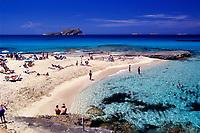 SPAIN / ISLAS BALEARES / IBIZA<br /> Playa de Comte.