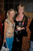 Hannah Sandling and Louise Fennell, Theo Fennell party to celebrate their 21st Anniversary. The Collection. 28 October 2003. © Copyright Photograph by Dafydd Jones 66 Stockwell Park Rd. London SW9 0DA Tel 020 7733 0108 www.dafjones.com