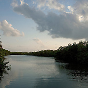The property at the Fairmont Mayakoba hotel in the Riviera Maya, about one hour south of Cancun, Mexico has a championship golf course, natural canals and bike paths that meander through the resort.
