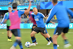 August 29, 2018 - San Jose, California, United States - San Jose, CA - Wednesday August 29, 2018: Magnus Eriksson prior to a Major League Soccer (MLS) match between the San Jose Earthquakes and FC Dallas at Avaya Stadium. (Credit Image: © John Todd/ISIPhotos via ZUMA Wire)