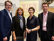 31/01/2018  retro free : Cllr Niall McNeilis with Annette Curley (Chair) and Aislinn Ó hEocha Artistic Director and Senator Aodhán Ó Ríordáin  at the launch of Wide Eyes, a unique one-off European arts extravaganza for babies and children aged 0 – 6. Hosted by Baboró, Wide Eyes will take place in Galway till Sun 4 February. This imaginative programme will feature 15 new theatre and dance shows from some of Europe's finest creators of Early Years work from Austria, Belgium, Denmark, Finland, France, Germany, Hungary, Italy, Poland, Romania, Slovenia, Spain, Sweden, UK and Ireland. For more see www.wideeyesgalway.ie<br /> <br /> Wide Eyes will welcome almost 200 artists and arts professionals from almost 20 countries to enthral and engage children over four jam-packed days. Photo:Andrew Downes, XPOSURE